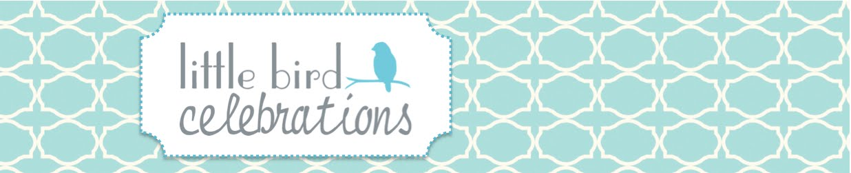 Little Bird Celebrations Party Ideas, Party Supplies and Party Decorations