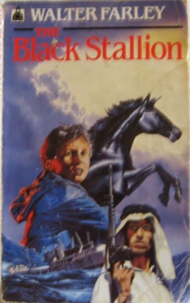 Black Stallion Book Cover : Books mud and compost horses pbotd th march