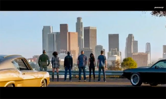 The official trailer of the seventh installment of the Fast & Furious film series is finally here. It's really fast and filled with so much action.