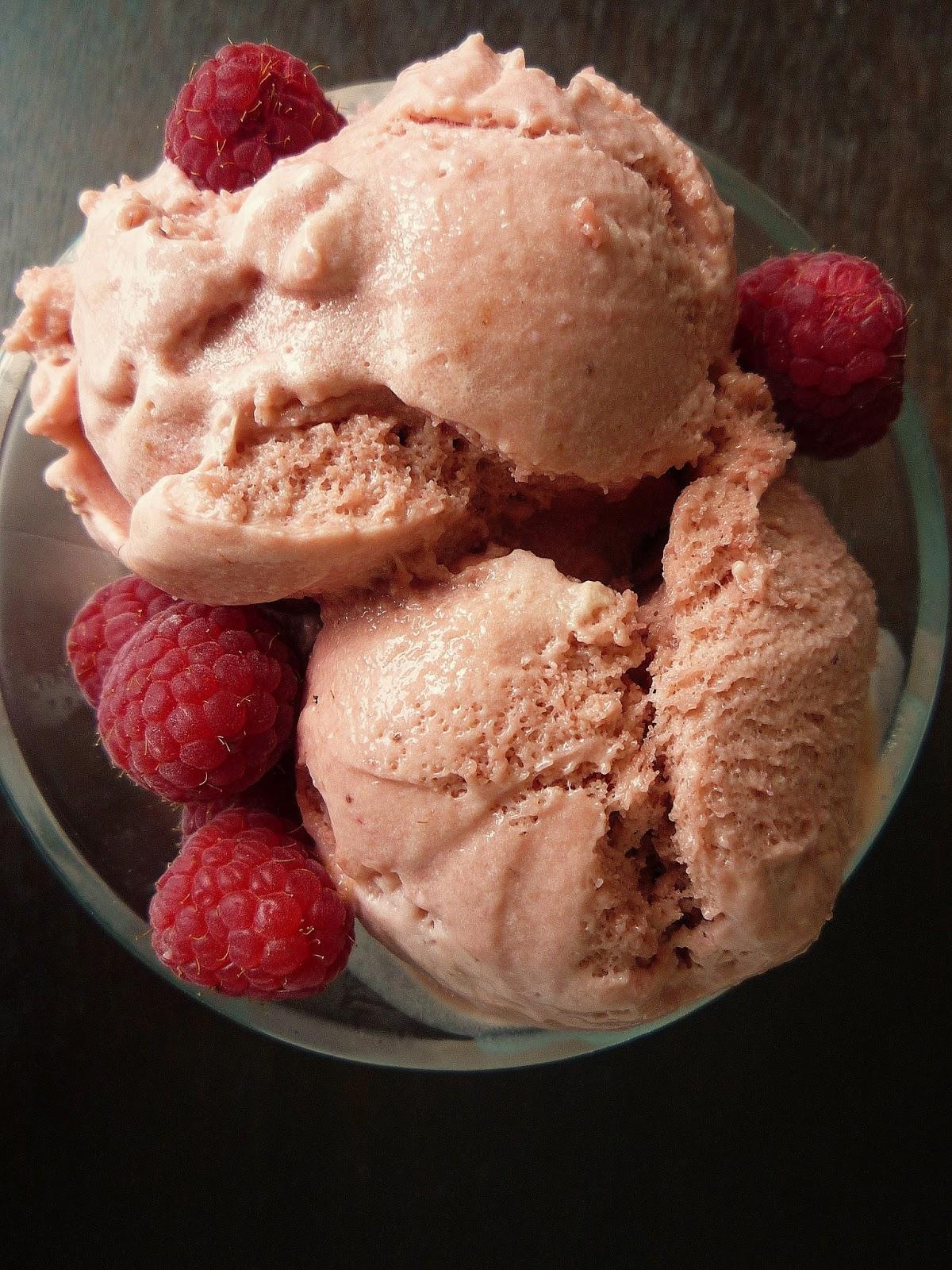 Raspberry Gelato Recipe — Dishmaps