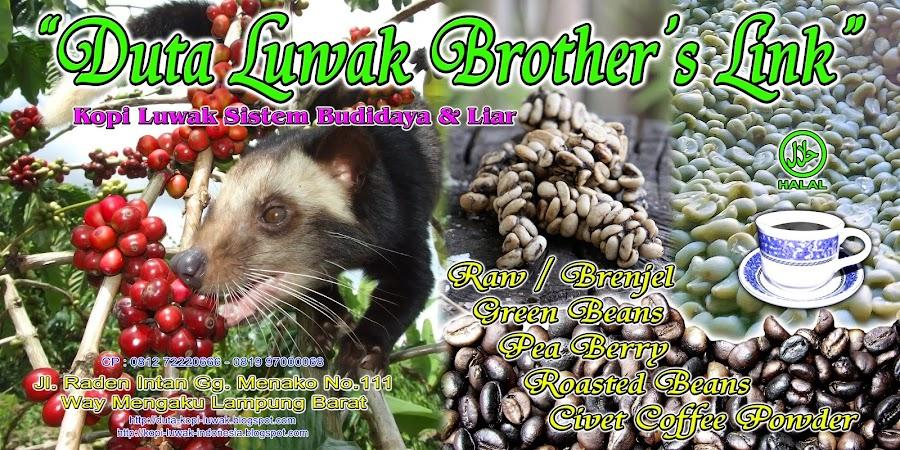 DUTA LUWAK BROTHER'S LINK - WISATA LUWAK INDONESIA