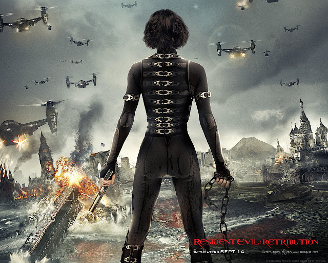 Resident Evil: Retribution PowerPoint background 03