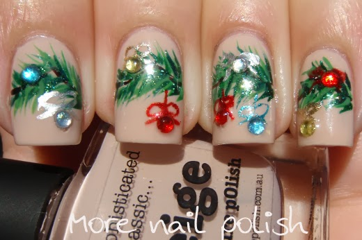 Nail Polish Canada Holiday Art Challenge Decorations More