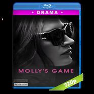 Molly's Game (2017) BRRip 720p Audio Dual Latino-Ingles