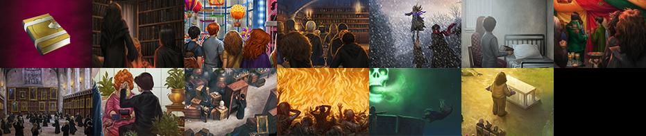 Miniature dei Momenti di Harry Potter e il Principe Mezzosangue