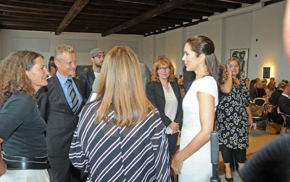 Crown Princess Mary attend networking event related to the organization 'Women Deliver'  at the Ministry of Foreign Affairs of Denmark
