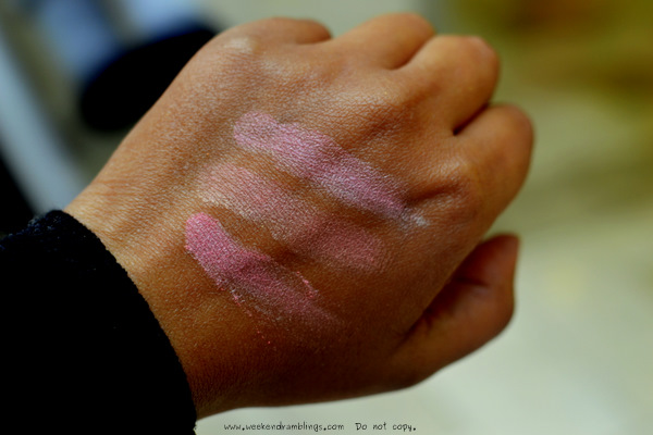 Blush Horizon de Chanel Glowing Spring Summer 2012 Makeup Glowing Harmonie De Printemps Collection Swatches