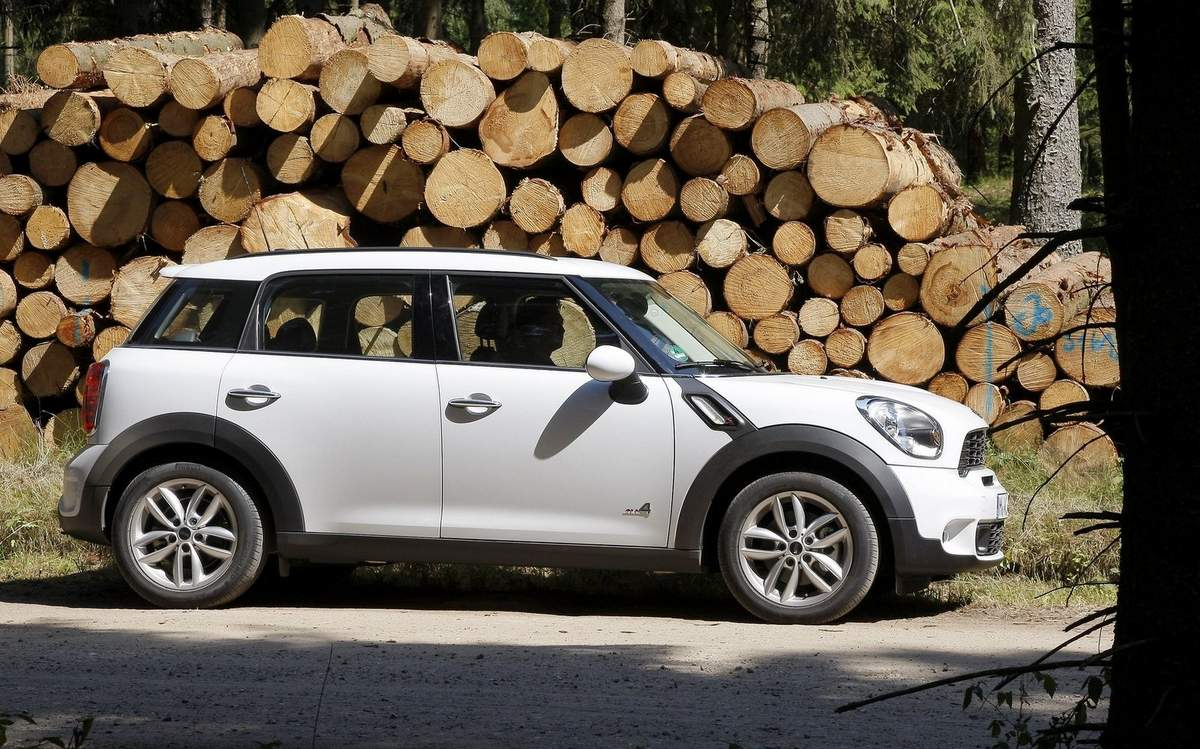 MINI Countryman x Golf GTI 2014