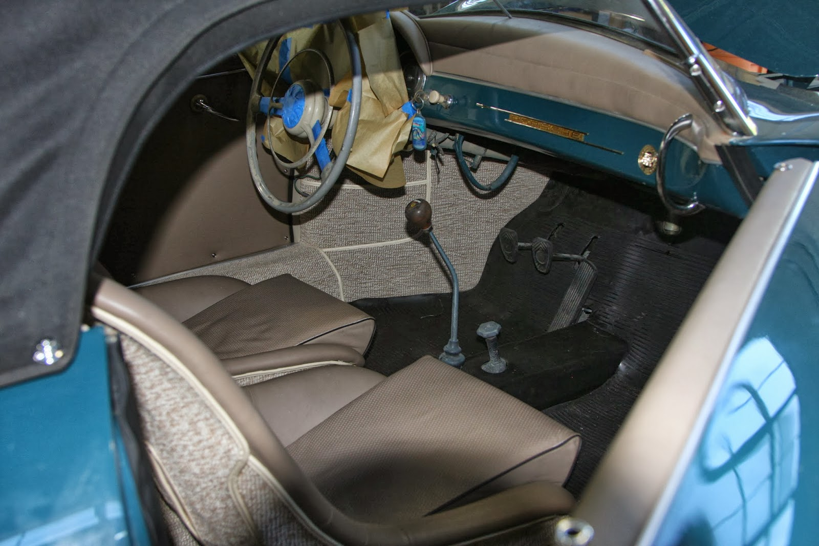 Cooks Upholstery And Classic Restoration Auto Upholstery Bay Area Porsche 356 Steering Wheel