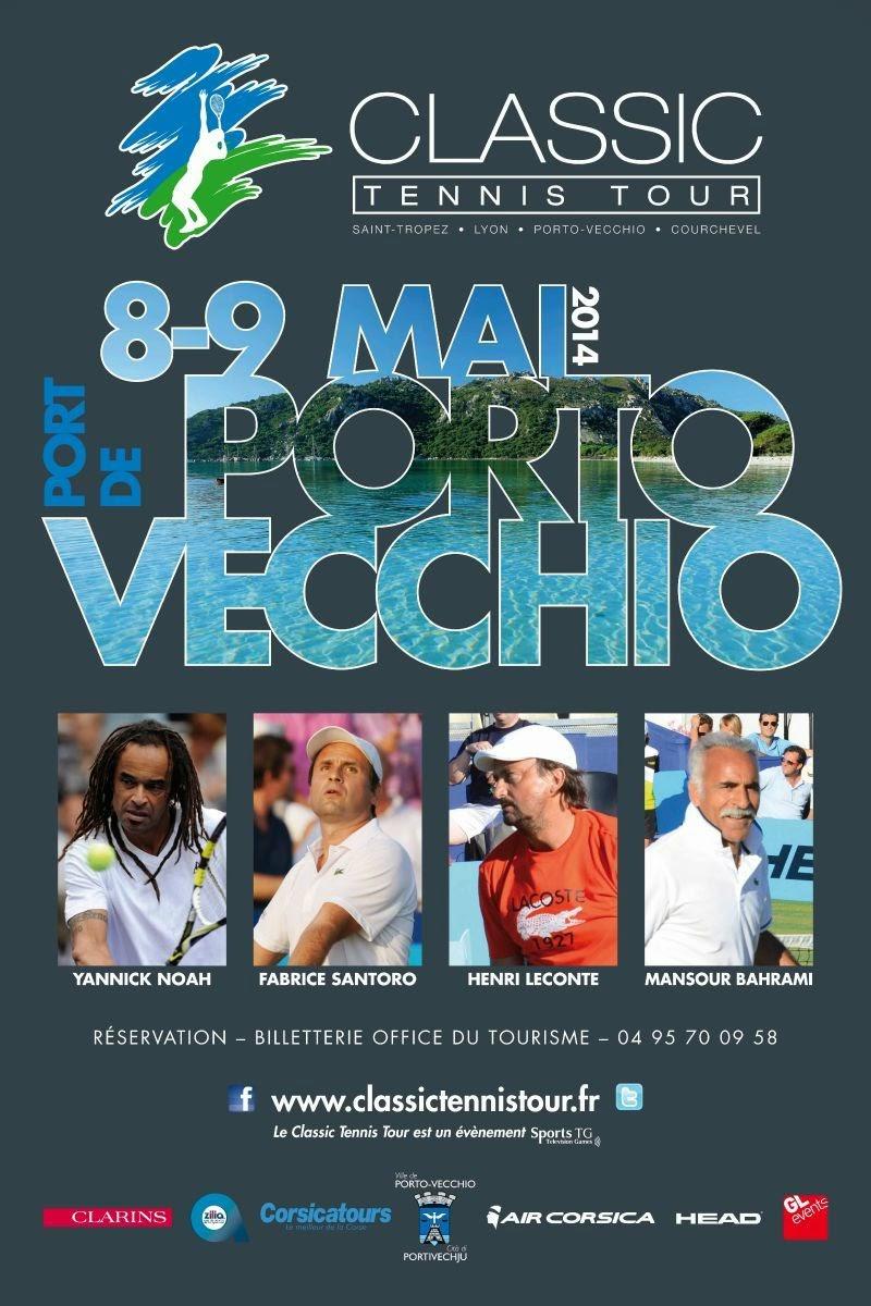 Classic Tennis Tour à Porto-Vecchio
