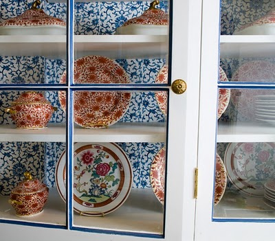 Chinoiserie chic navy chinoiserie diy for Roman pantry