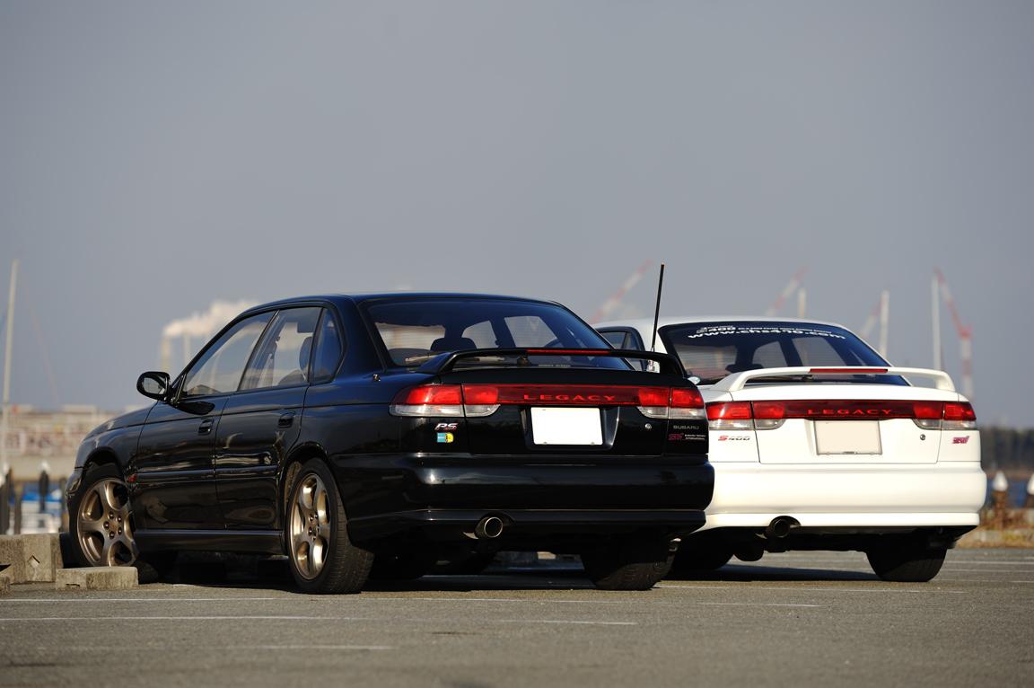 139. Zdjęcia #047: Subaru Legacy. staryjaponiec blog 日本車 チューニングカー スバル
