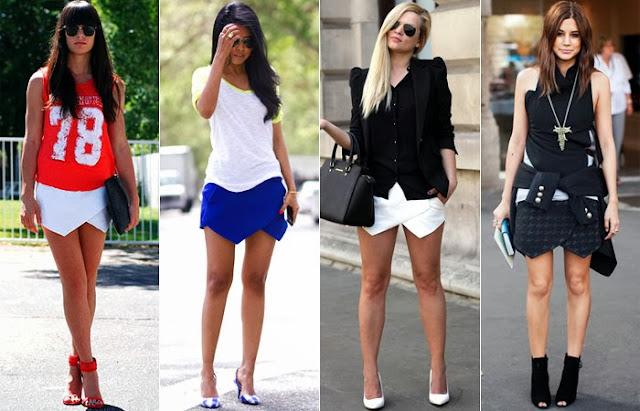 Sempre na moda short saia verão 2014