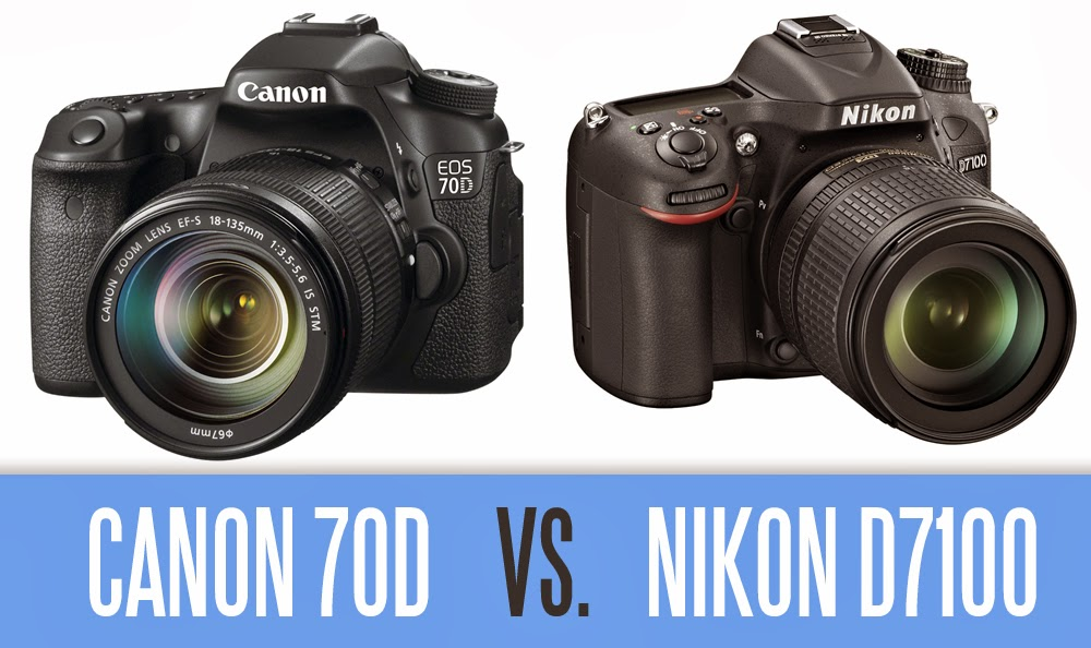nuevas cámaras digitales, Canon EOS 70D, Nikon D7100, Canon 70D vs Nikon D7100, new canon camera, new nikon camera, DSLR camera, Full HD video,