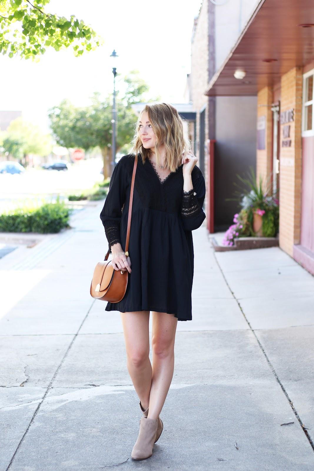 Boho fall dress