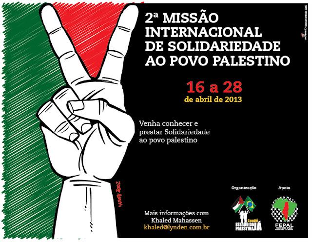 Missão de Solidariedade à palestina