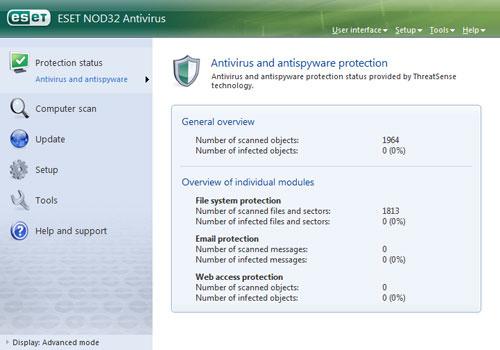 Software Antivirus Gratis dan Terbaik Untuk Komputer - Eset
