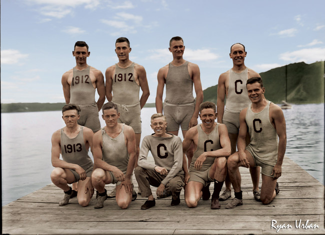 Cornell Rowing Team 1907.