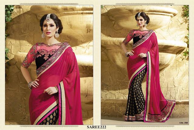 Sarees Online – Buy Designer Fancy Half Saree