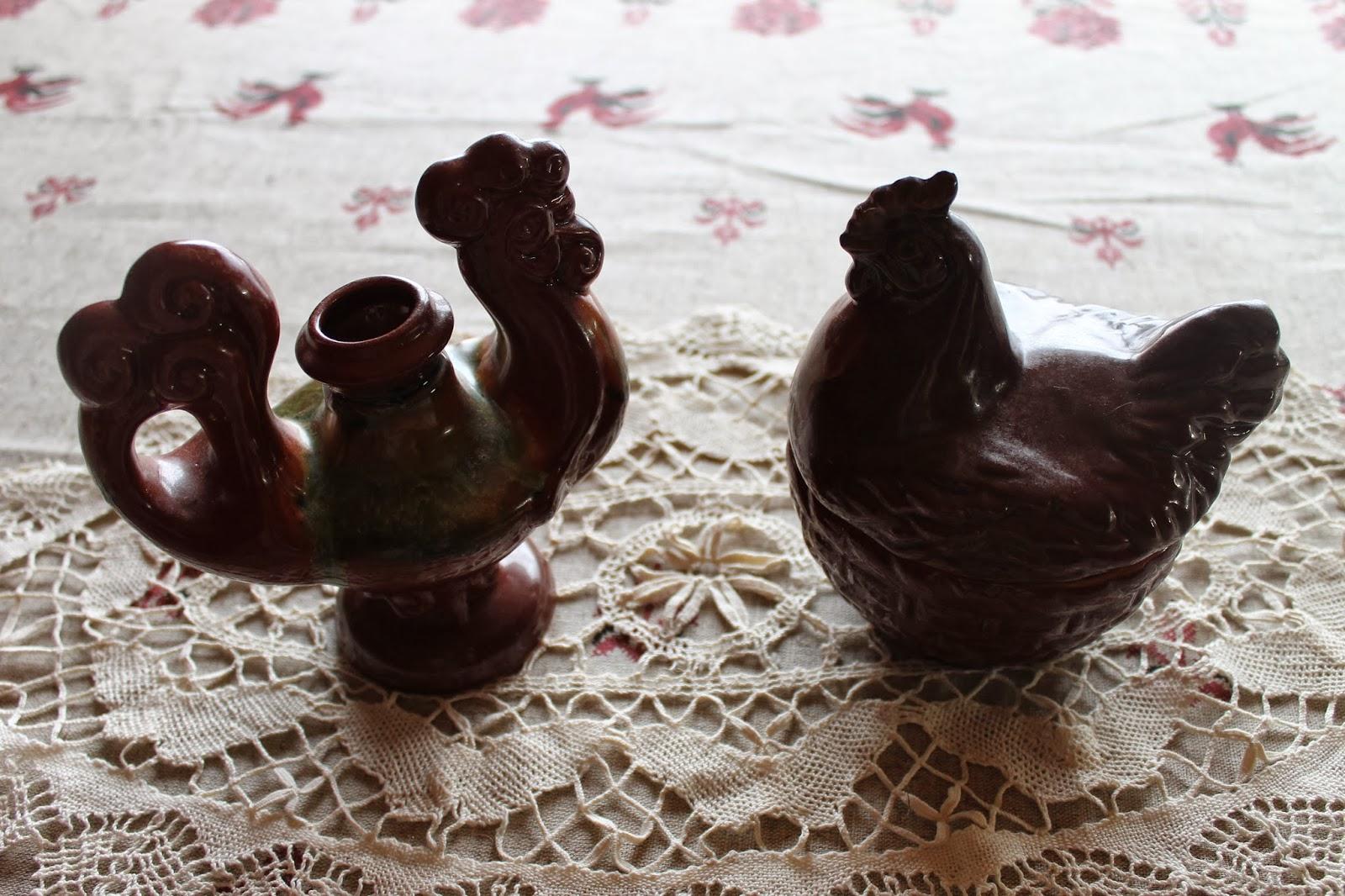 Глиняные петушки