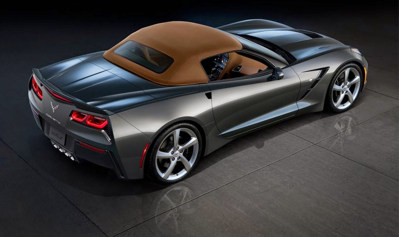 Carro - Chevrolet Corvette C7 Stingray Convertible (2014)