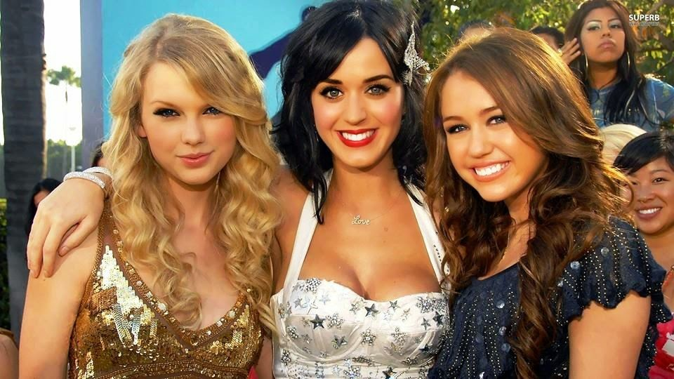 Taylor Swift - Katy Perry or Miley cyrus