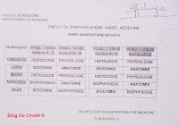Programme de la 2eme année (2011/2012)