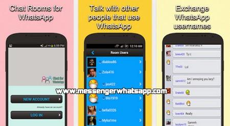 Conoce nuevos amigos con Chat Rooms for WhatsApp