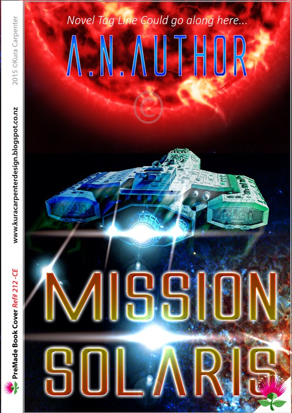 PreMade Science Fiction Book Cover for Sale. Cover Designer: Kura Carpenter.