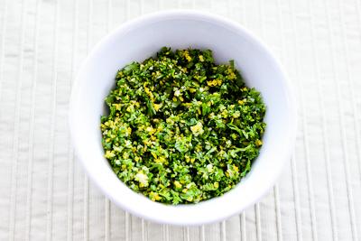 ... Kitchen®: How to Make Gremolata and Recipe Ideas for Using Gremolata