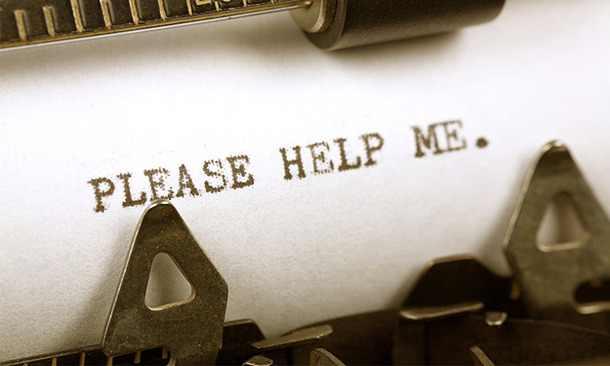 Wie man jemanden um Hilfe bittet