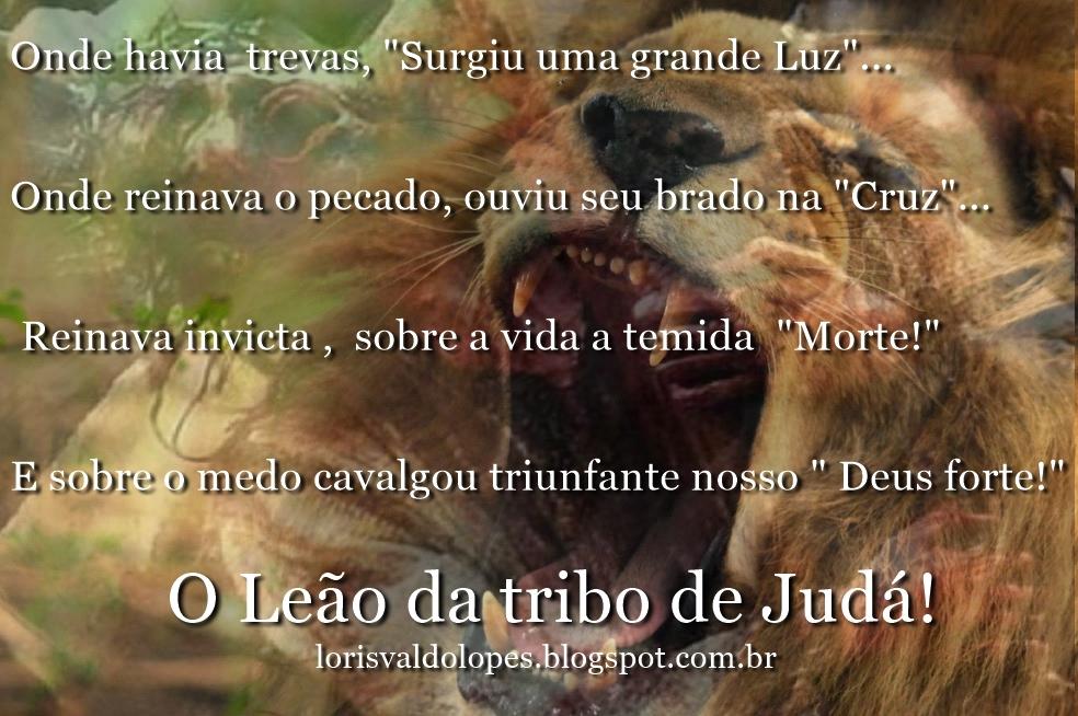 Sementeslançadas O Leão Da Tribo De Judá