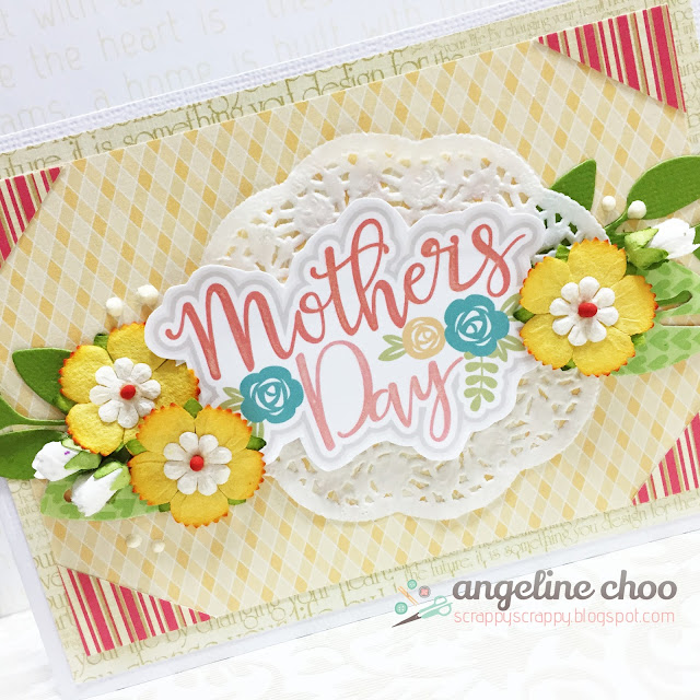 ScrappyScrappy: Mother's Day card #scrappyscrappy #mothersday #card