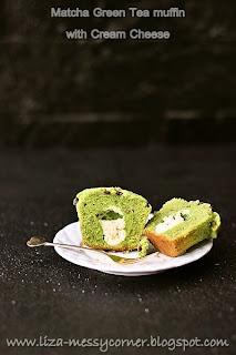 My Life My Love My Food Matcha Green Tea Muffin With