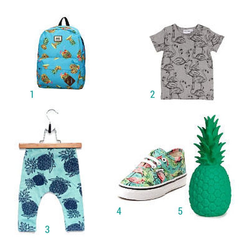 Ticket to the Tropics Ondeugende Spruit Kinderkleding Inspiratie