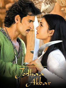 Poster Of Bollywood Movie Jodhaa Akbar (2008) 300MB Compressed Small Size Pc Movie Free Download worldfree4u.com