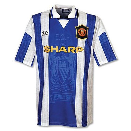 94-96 Manchester United 3rd Jersey