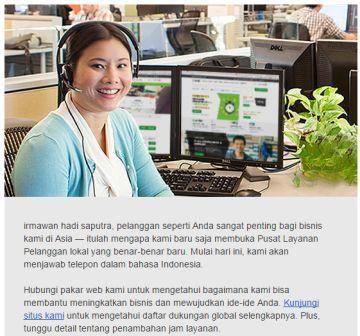 Support Bahasa Indonesia, GoDaddy Sekarang Makin Mudah Digunakan