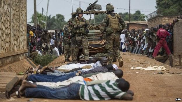 Tentara Perancis di CAR (foto AFP)