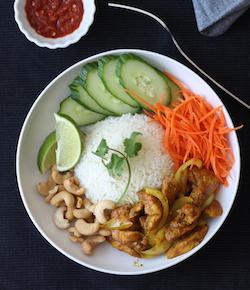vietnamese sweet & spicy chicken recipe