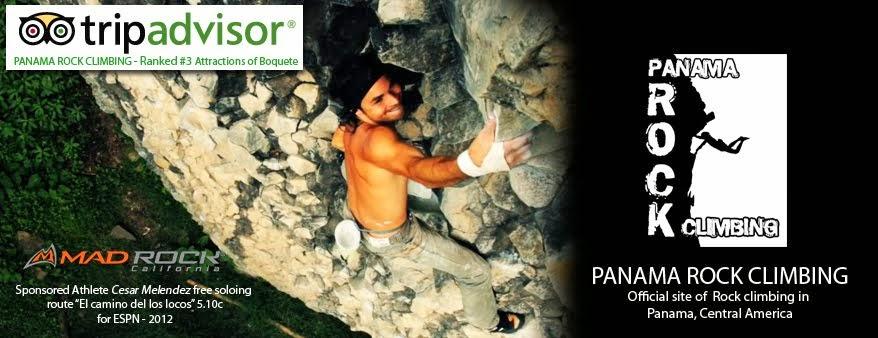 Panama Rock Climbing