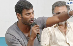 Vishal Aggressive Speech at Sivaji Memorial Press Meet
