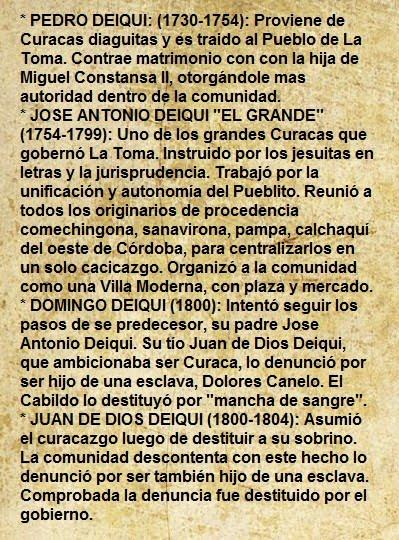 DINASTÍA DE LOS DEIQUI (1730-1804)