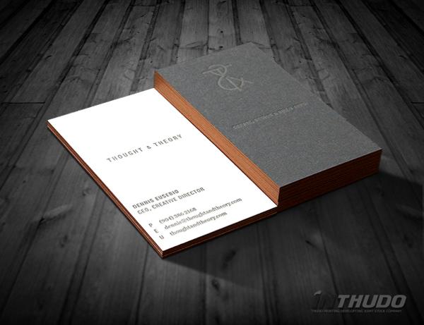 mẫu card visit kinh doanh 4