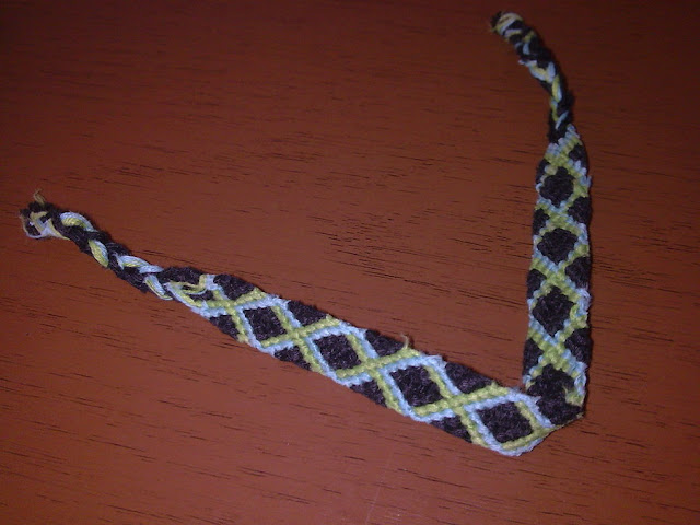 Friendship Bracelet X Pattern8
