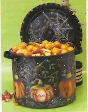 Halloween Pot