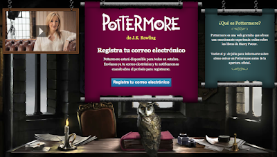 Pottermore: la red social para fans de Harry Potter