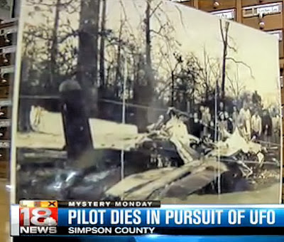 Eyewitness Account – Pilot Dies In Pursuit Of UFO (Mantell)