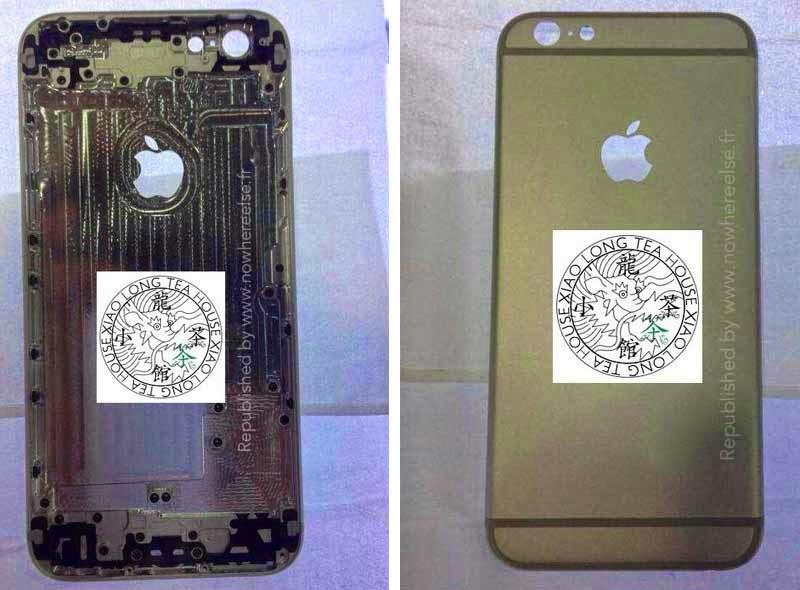 Tiếp tục xuất hiện hình ảnh iPhone 6 màn hình 4,7 inch với thiết kế to và mỏng
