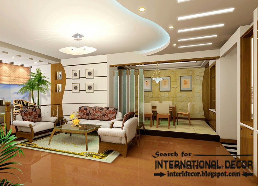 plasterboard ceiling false ceiling designs for living interior ceiling led hidden lighting